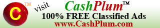 CashPlum 100% FREE Classified Ads for Business and personal promotions.